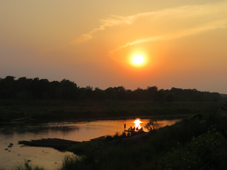 Astham to Chitwan national park 8 hrs: